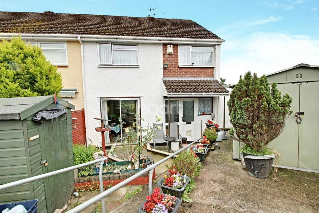 4 Bedrooms End Of Terrace House for sale in Monnow Walk, Bettws, Newport