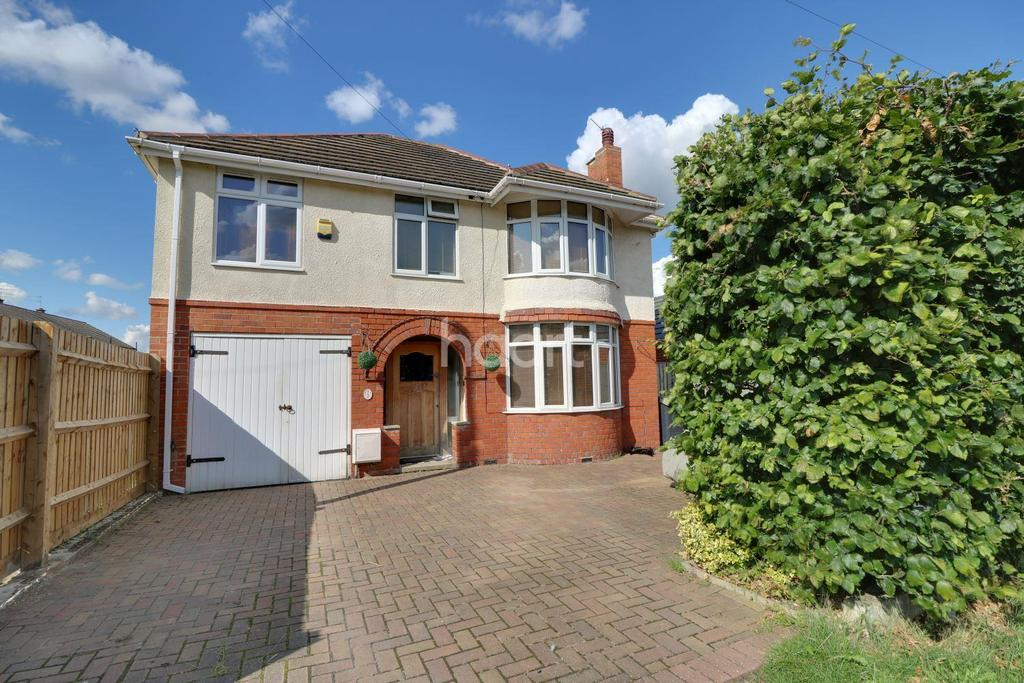 4 Bedrooms Detached House for sale in Abbey View Road, Moredon, Swindon