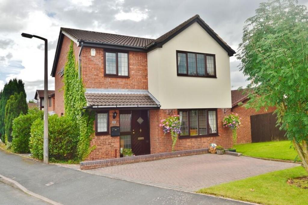 4 Bedrooms Detached House for sale in Warren Croft, Handsacre