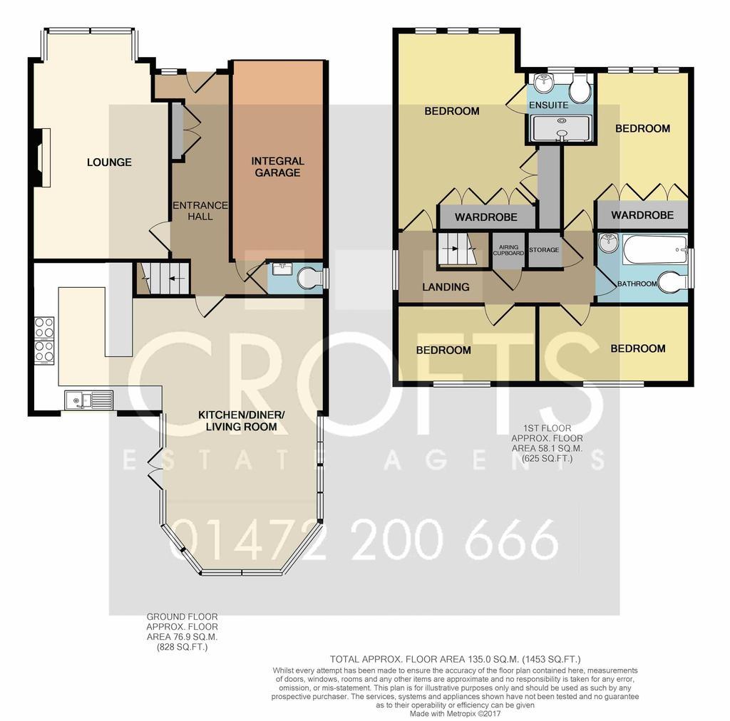 Marlborough way cleethorpes 4 bed detached house 250 000 for Marlborough house floor plan