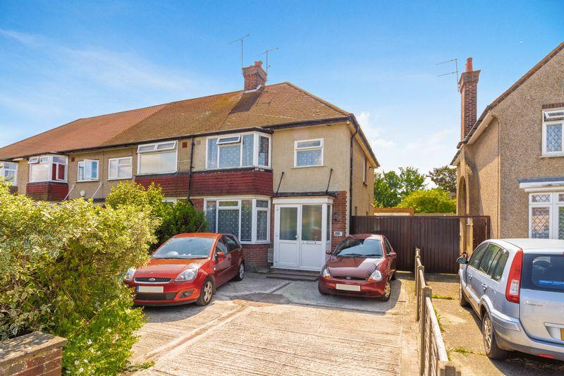 3 Bedrooms End Of Terrace House for sale in King Edward Avenue, Worthing