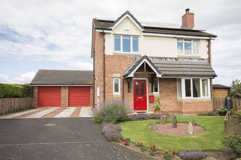4 Bedrooms Detached House for sale in Byers Close, Belford