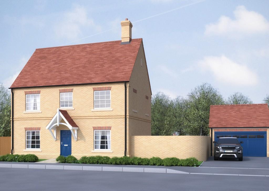 3 Bedrooms Detached House for sale in Plot 42, Victoria Heights, Melbourn, Cambridge