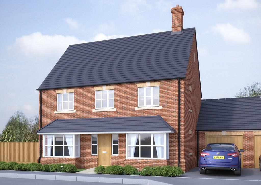 4 Bedrooms Detached House for sale in Plot 41, Victoria Heights, Melbourn