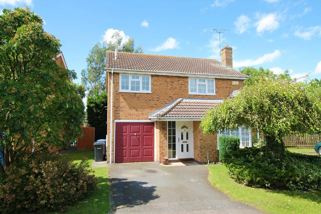 4 Bedrooms Detached House for sale in Vaughan Close, Market Harborough
