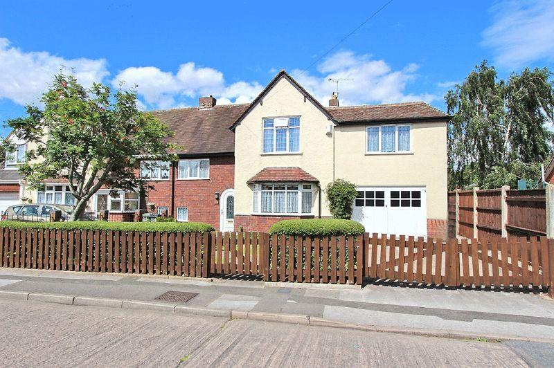 4 Bedrooms Semi Detached House for sale in Victoria Avenue, Bloxwich Walsall