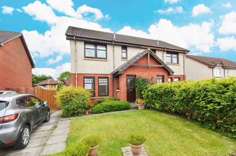 3 Bedrooms Semi Detached House for sale in Glen Sannox Drive, Cumbernauld