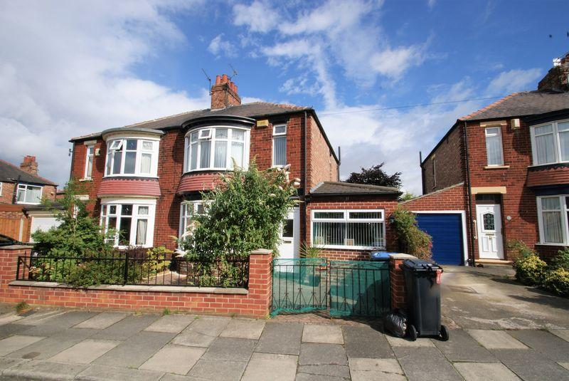 3 Bedrooms Semi Detached House for sale in Abdale Avenue, Middlesbrough