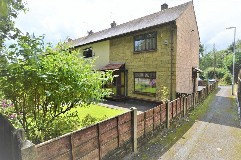 2 Bedrooms End Of Terrace House for sale in Edwin Waugh Gardens, Rochdale