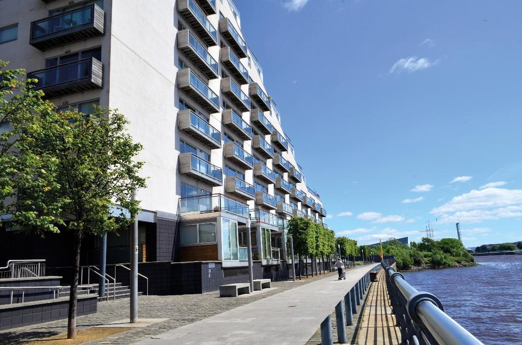 1 Bedroom Flat for sale in Meadowside Quay Walk, Flat 5/3, Glasgow Harbour, Glasgow, G11 6AX