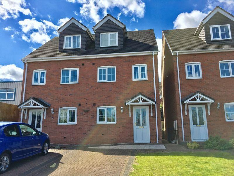3 Bedrooms Semi Detached House for sale in Rink Drive, Swadlincote