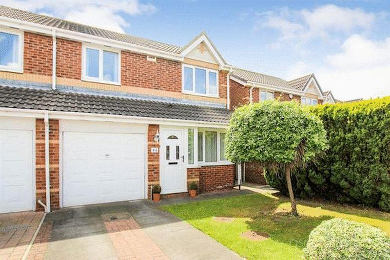 3 Bedrooms Semi Detached House for sale in Nenthead Close, Chester Le Street