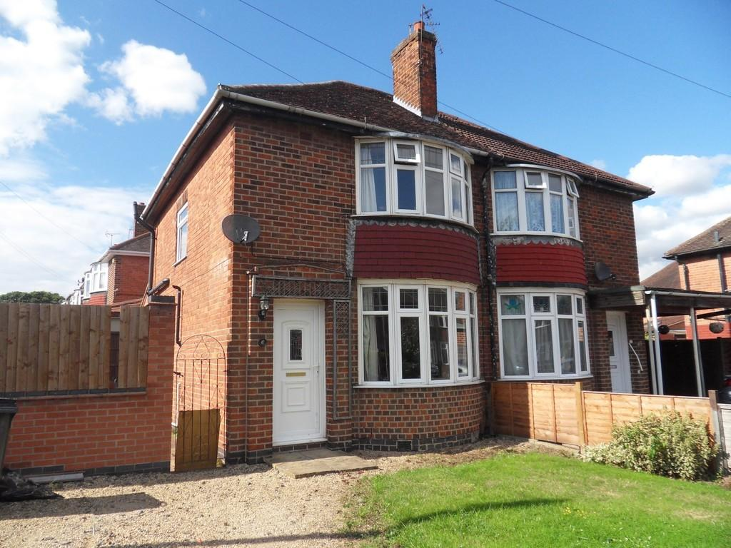 3 Bedrooms Semi Detached House for sale in King George Road, Loughborough