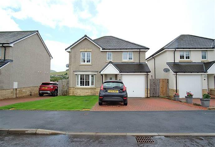 4 Bedrooms Detached House for sale in 36 Lairburn Drive, Clovenfords, TD1 3AJ