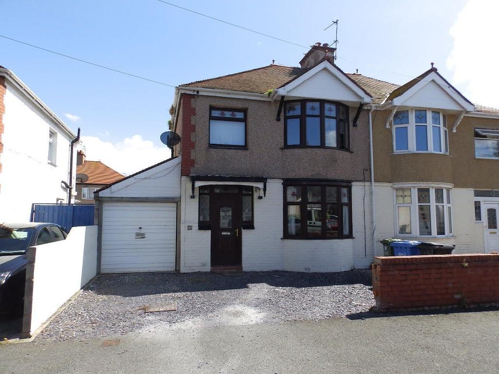 3 Bedrooms Semi Detached House for sale in Elwy Drive, Rhyl