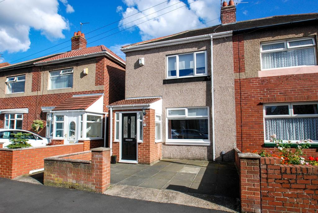 3 Bedrooms Semi Detached House for sale in Nora Street, South Shields