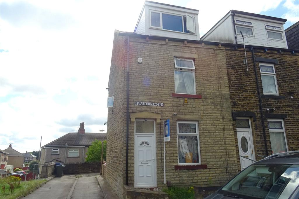 3 Bedrooms End Of Terrace House for sale in Ewart Place, Bradford, West Yorkshire, BD7