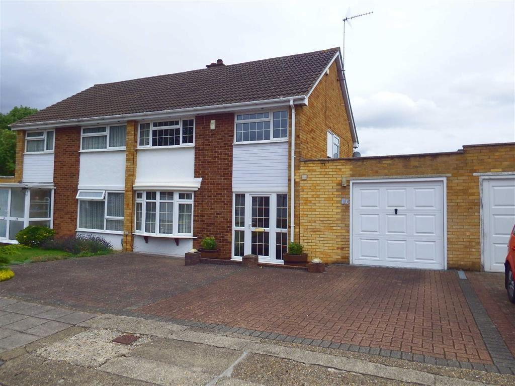 4 Bedrooms Semi Detached House for sale in Taywood Close, Stevenage, Hertfordshire, SG2