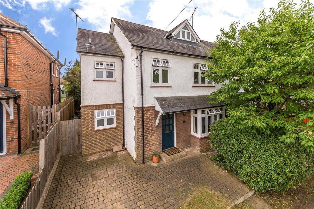 4 Bedrooms Semi Detached House for sale in Grove Avenue, Harpenden, Hertfordshire