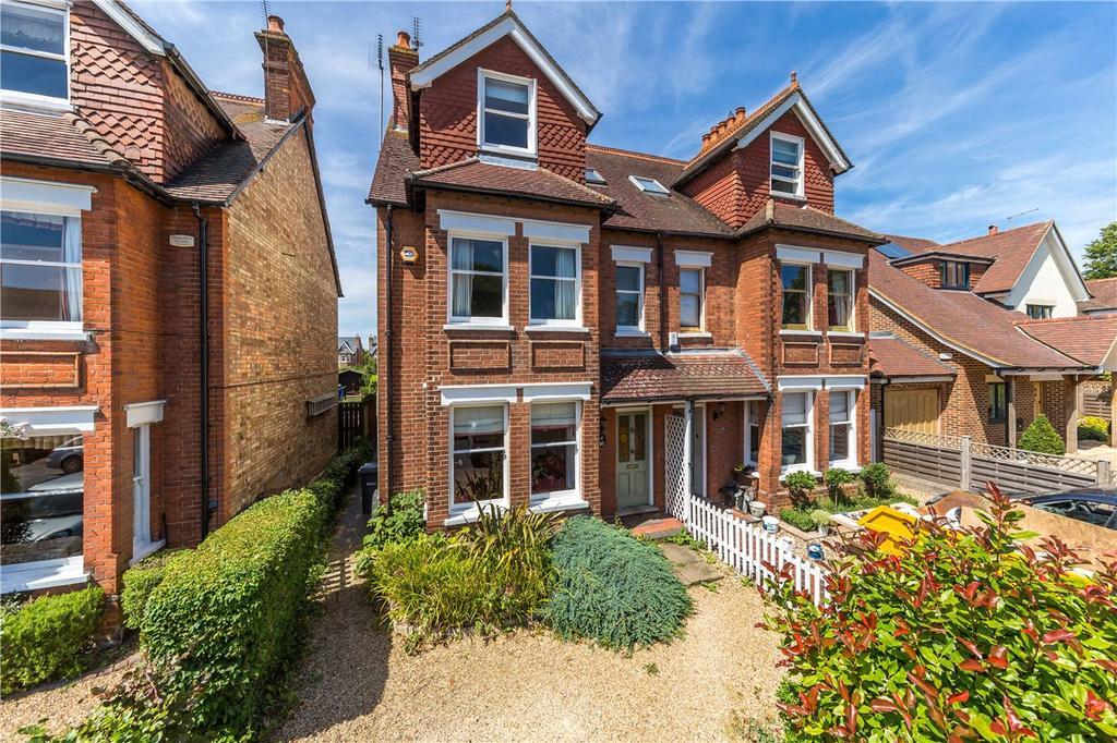 5 Bedrooms Semi Detached House for sale in Spenser Road, Harpenden, Hertfordshire