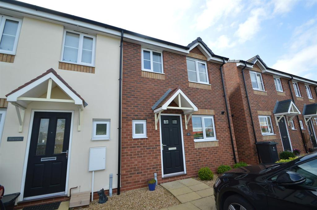 3 Bedrooms Terraced House for sale in 13 Asquith Close, Shrewsbury SY1 4NW