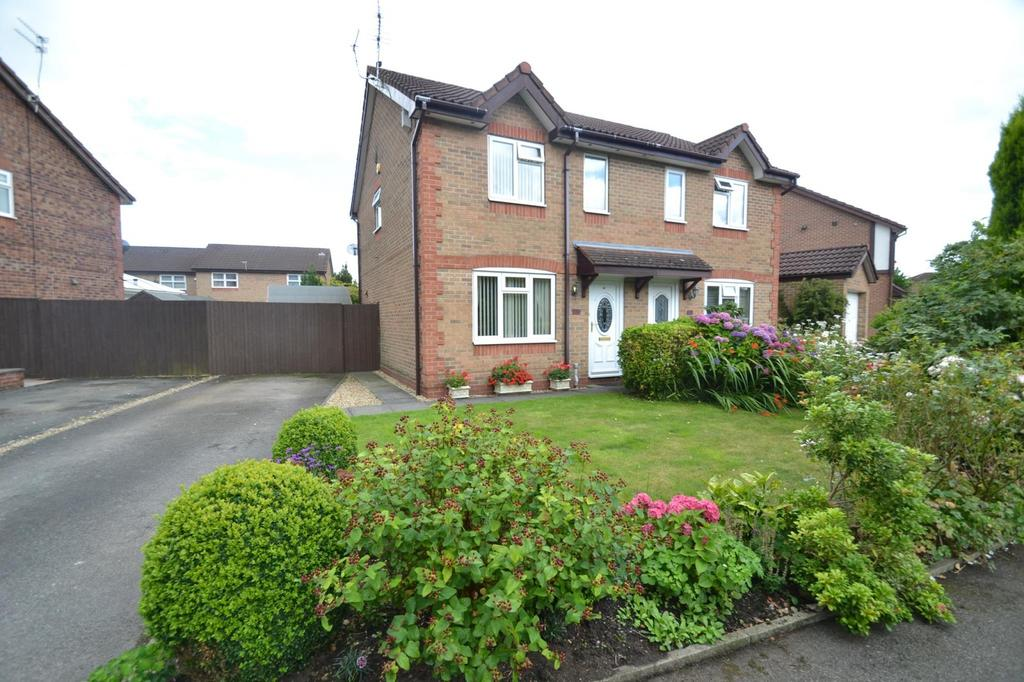 3 Bedrooms Semi Detached House for sale in Dorchester Drive, Sale