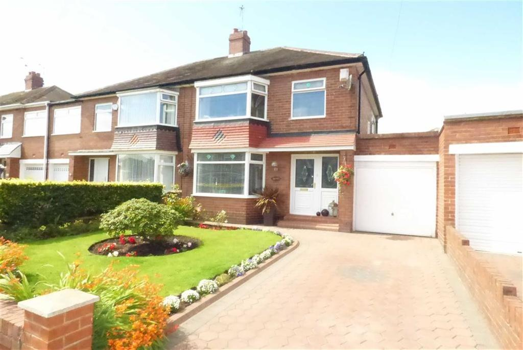 3 Bedrooms Semi Detached House for sale in Rathmore Gardens, North Shields