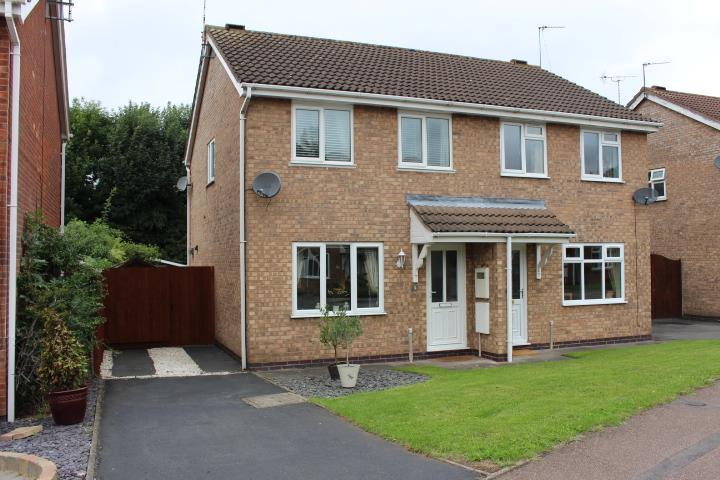 3 Bedrooms Semi Detached House for sale in Coulson Close, Whetstone, Leicester