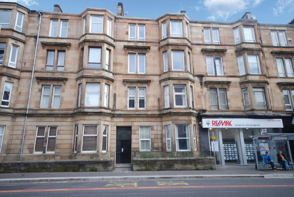 2 Bedrooms Ground Flat for sale in 1B, 173 Kilmarnock Road, Shawlands, Glasgow, G41 3JE