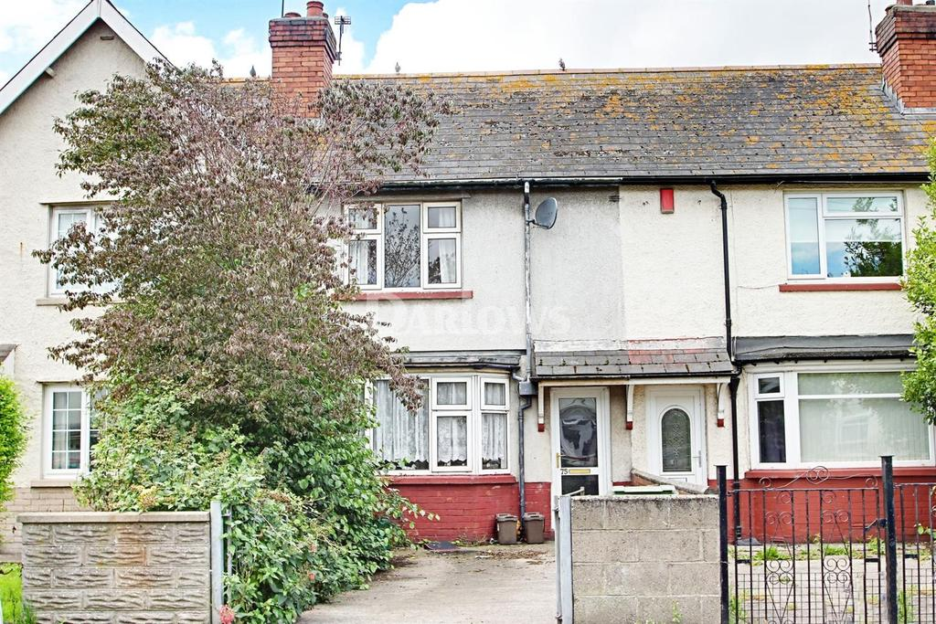 2 Bedrooms Terraced House for sale in Mercia Road, Tremorfa, Cardiff