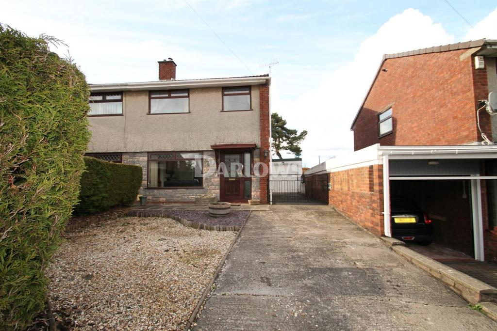 3 Bedrooms Semi Detached House for sale in Martindale Road, Griffithstown, Pontypool
