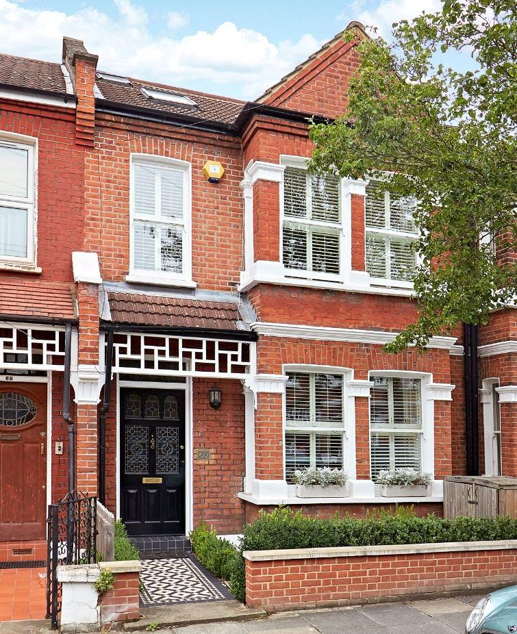 4 Bedrooms Terraced House for sale in Blandford Road, Chiswick, London, W4