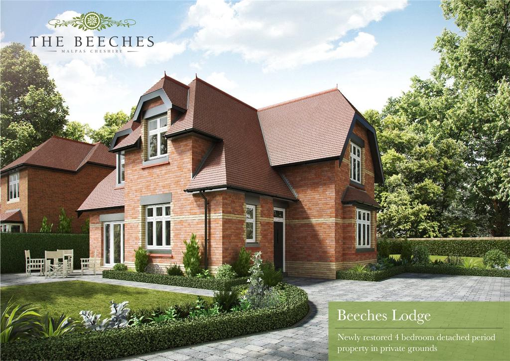 4 Bedrooms Unique Property for sale in The Beeches, Malpas, Cheshire, SY14