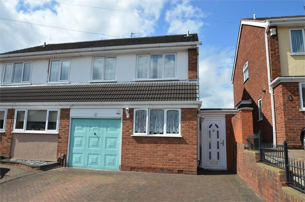 3 Bedrooms Semi Detached House for sale in Calewood Road, Brierley Hill, West Midlands