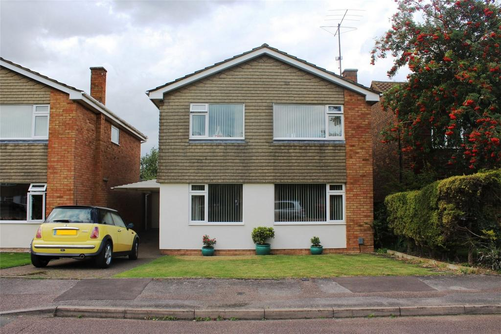 4 Bedrooms Detached House for sale in Alder Close, Baldock, Hertfordshire