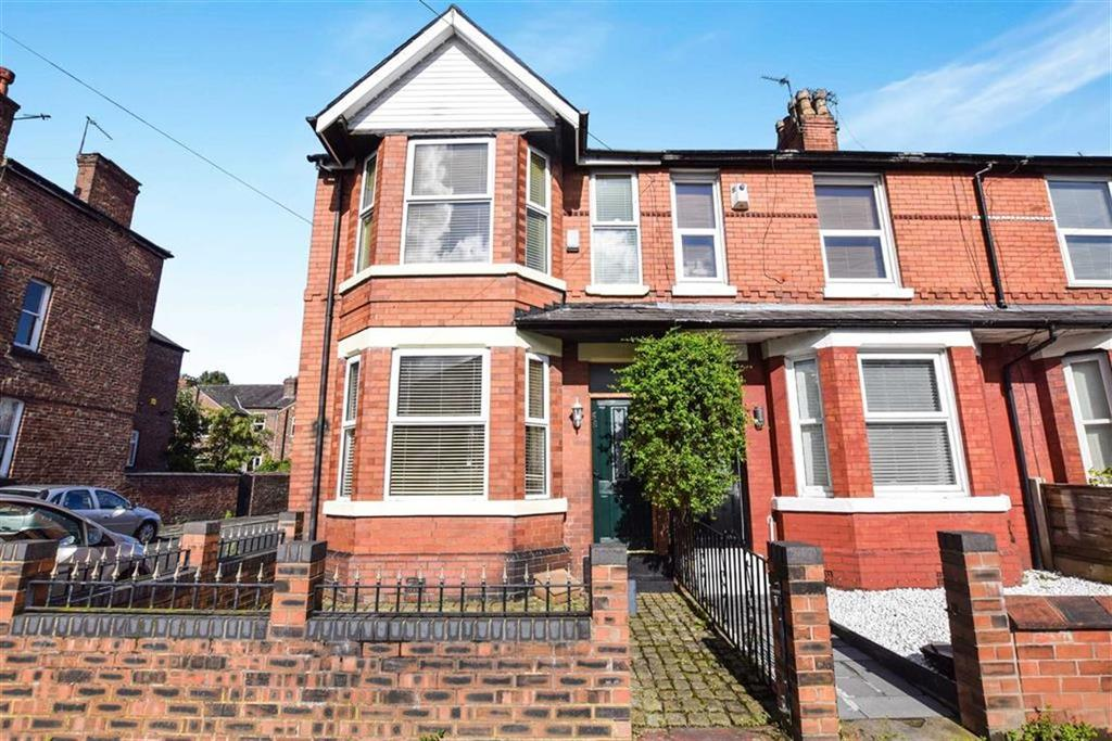 3 Bedrooms End Of Terrace House for sale in Roseneath Road, Urmston, Manchester