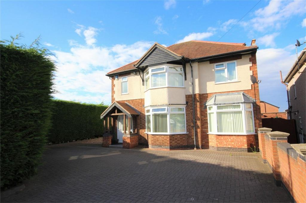 4 Bedrooms Detached House for sale in Lutterworth Road, Whitestone, Nuneaton, Warwickshire