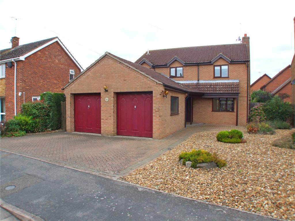 4 Bedrooms Detached House for sale in Meadway, Market Deeping, Peterborough, PE6