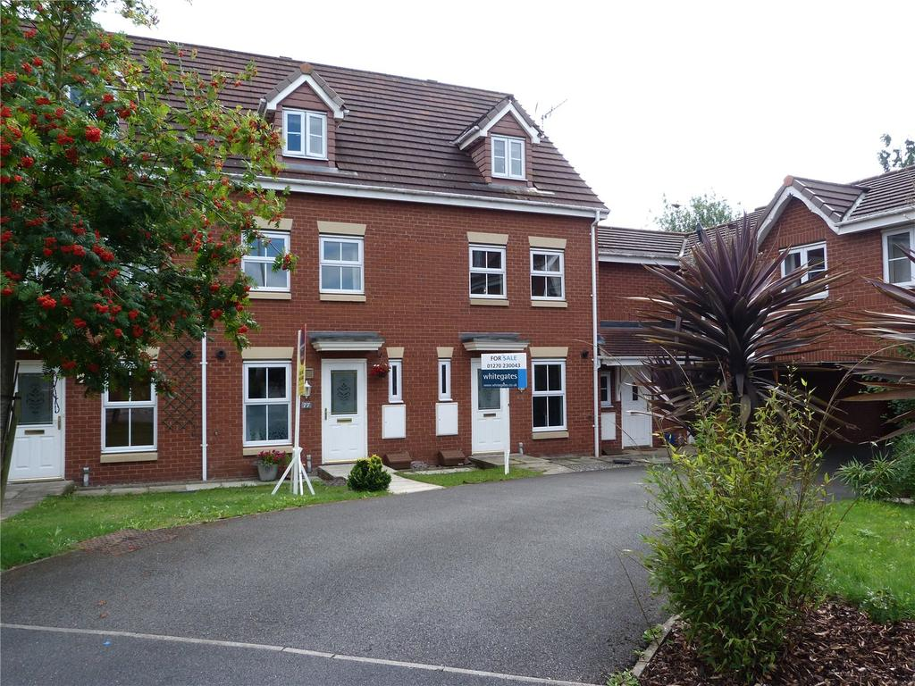 3 Bedrooms Terraced House for sale in Clonners Field, Stapeley, Nantwich, Cheshire, CW5