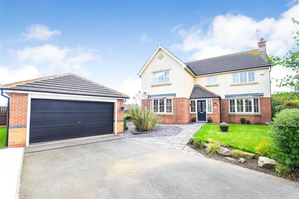 4 Bedrooms Detached House for sale in Aldeburgh Way, East Shore Village, Seaham, Co Durham, SR7