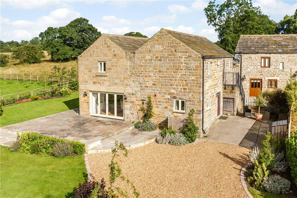 4 Bedrooms Detached House for sale in The Barn, Higher Shaw Farm, Shaw Lane, Beckwithshaw, HG3