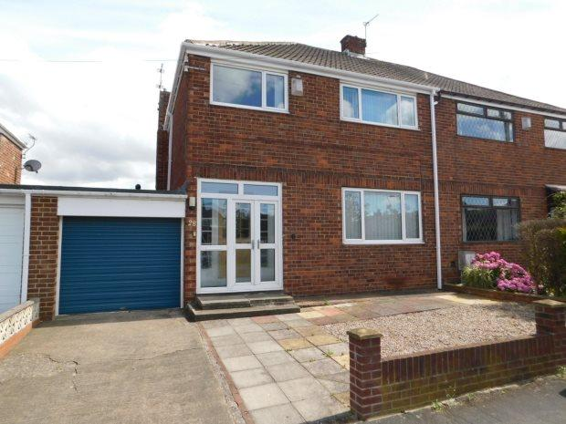3 Bedrooms Semi Detached House for sale in GRANGE ROAD, CARRVILLE, DURHAM CITY