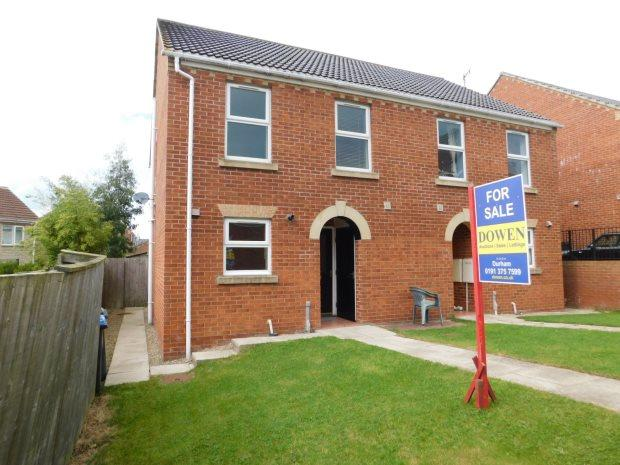 3 Bedrooms Semi Detached House for sale in COCHRANE MEWS, USHAW MOOR, DURHAM CITY : VILLAGES WEST OF