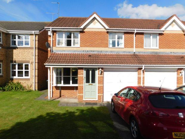 3 Bedrooms Semi Detached House for sale in GARDNERS PLACE, LANGLEY MOOR, DURHAM CITY : VILLAGES WEST OF