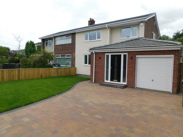 4 Bedrooms Semi Detached House for sale in WILLOWTREE AVENUE, GILESGATE, DURHAM CITY