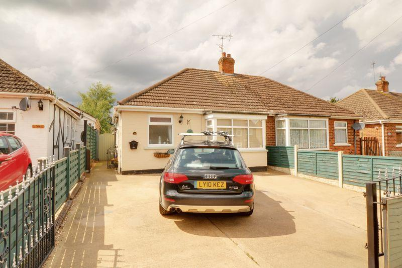 2 Bedrooms Semi Detached Bungalow for sale in George Street, Broughton