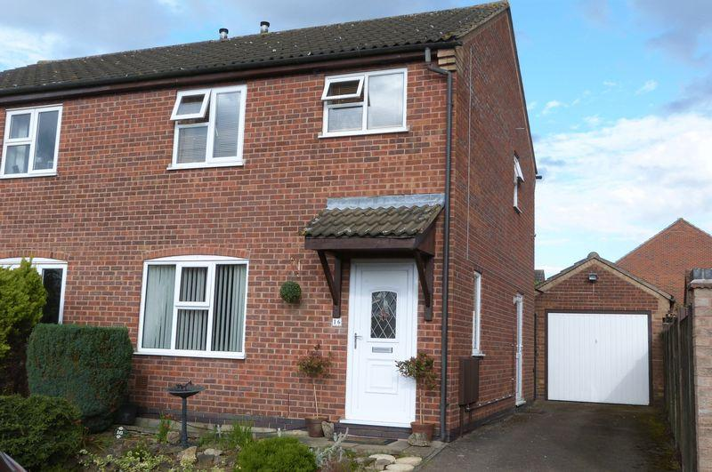 3 Bedrooms Semi Detached House for sale in Wards Closes, Wigston Harcourt
