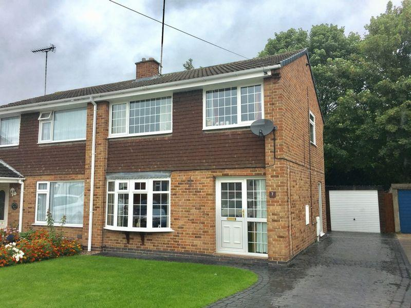 3 Bedrooms Semi Detached House for sale in Solney Close, Swadlincote