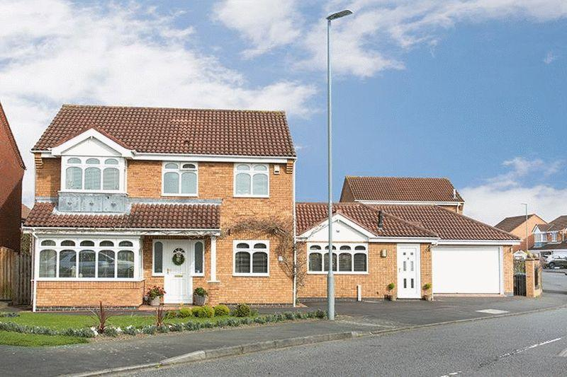 4 Bedrooms Detached House for sale in Stainmore Drive, Chester Le Street