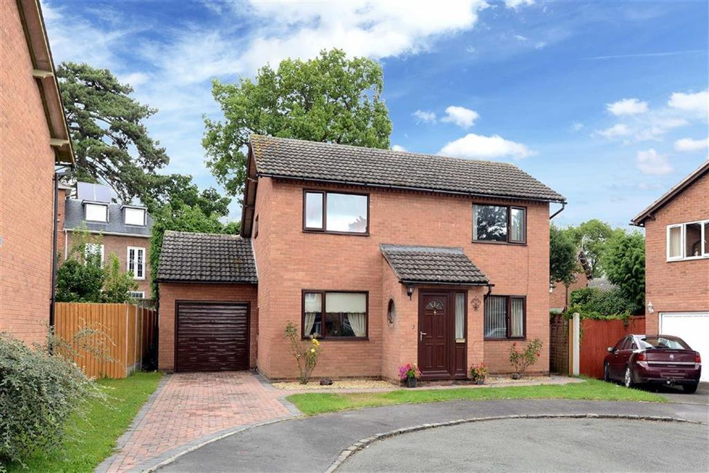 3 Bedrooms Detached House for sale in Whitebank, Gains Park, Shrewsbury, Shropshire